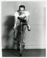 Six day bicycle racer