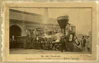 Train engine that drew Lincoln's funeral train