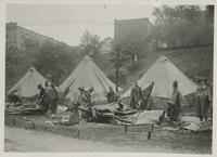 World War I- Edgewater Park encampment 1910s