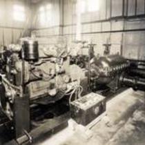 Baldwin Water Treatment plant pump
