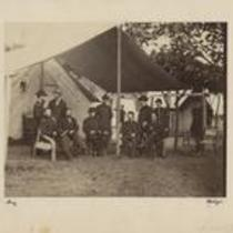 Ulysses Grant and staff