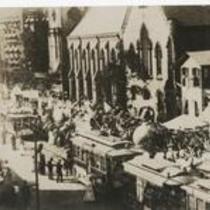 E 9th at Euclid 1890s