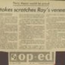 Stokes scratches ray's veneer-1