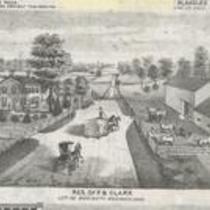 Residence of F.B. Clark