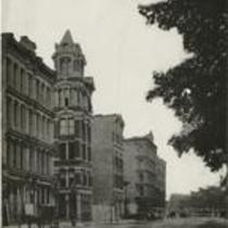 Euclid Ave near E 4th 1880s