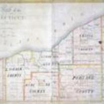 A map of the Connecticut Western Reserve