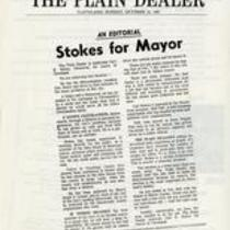 Stokes for mayor