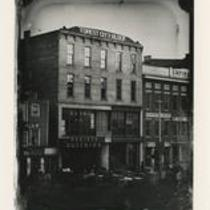 Superior Ave. between West 3rd and West 6th 1850s