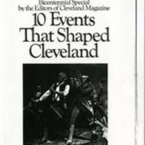 10 events that shaped Cleveland