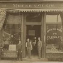 Meyer & Gleim Pharmacy 1880s