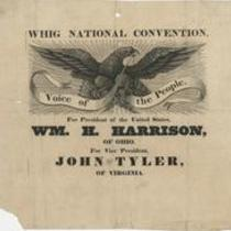Whig national convention. Voice of the people