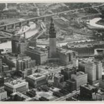 Builidngs Terminal Tower 1940s