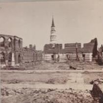 Charleston, S.C. 1865. Circular Church, Secession Hall.