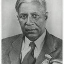 Garrett A. Morgan with medal