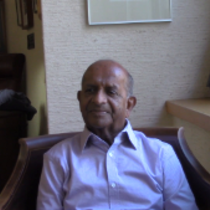 Ramachandran Balasubramaniam Oral History