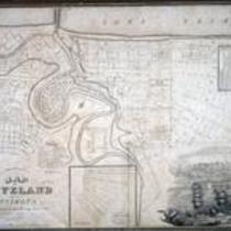 Map of Cleveland and its environs