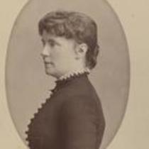 Constance Fenimore Woolson profile portrait