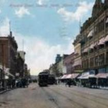 Howard Street, looking North, Akron, Ohio