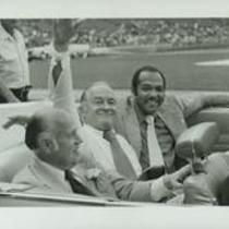 Carl Stokes with Bob Hope
