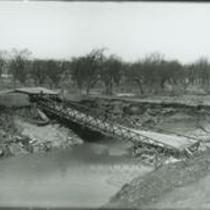 Campbell Road over Ohio Canal 1910s