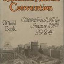 Book of the Republican National Convention, Cleveland, Ohio, June 10th, 1924