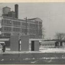 E 115th St at University Circle Parking Lot 1960s