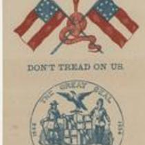 Southern Rights patriotic cards: State seal of Maryland