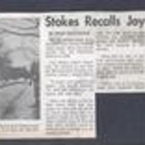 Press Article Stokes Recalls Joy-1