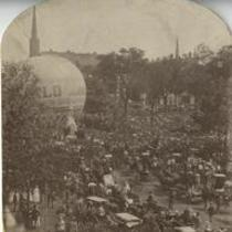 Balloon Ascent 1870s