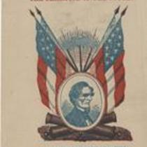 Southern Rights patriotic cards: Champion of the South. Hon Jefferson Davis