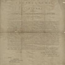 Address of the legislature to the citizens of the Territory of the United States, North-West of the River Ohio