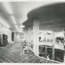 Businesses: Bond Clothing Interior 1940s