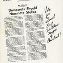Democrats should nominate stokes