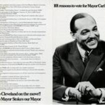 101 reasons to vote for Mayor Carl B. Stokes