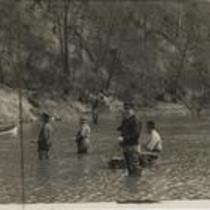 Fishing in Rocky River