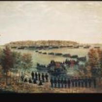 Burial of officers slain at the Battle of Lake Erie