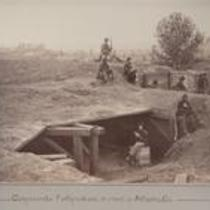Confederate Fortifications in front of Atlanta, Ga.