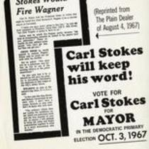 Carl Stokes will keep his word!