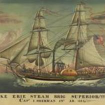 Lake Erie Steam Brig Superior