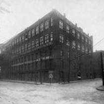 J.B. Pearce Company, corner of Merwin Street and James Street