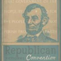 Book of the Republican National Convention: Cleveland, Ohio, June 9th, 1936
