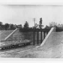 Railroads Nickel Plate at Adelbert Rd., 1910s