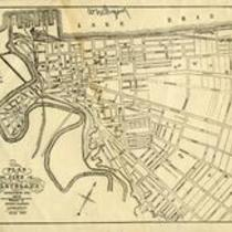 Plan of the city of Cleveland, Cuyahoga Co., Ohio