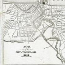 Map of the City of Cleveland, Ohio