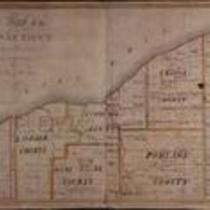 Map of Connecticut Western Reserve