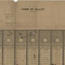 Form of ballot (unofficial)
