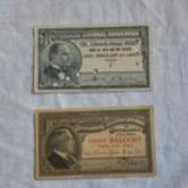 Two tickets to the 1936 Republican National Convention