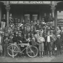 Call and Post newsboys 1934