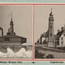 Buildings Water Works 1890s