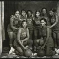 Councilman Laurence Payne's basketball team